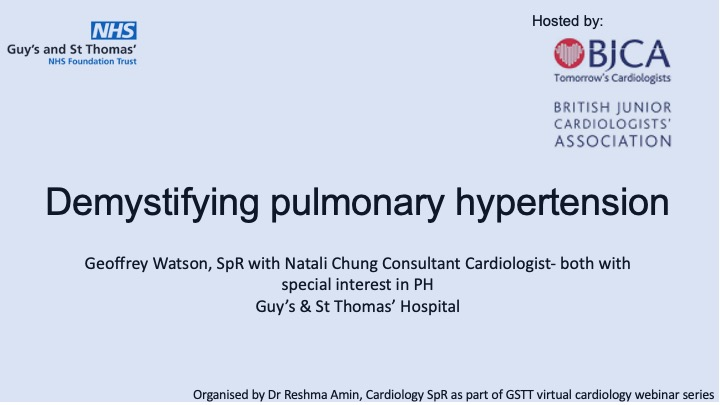 Demystifying pulmonary hypertension