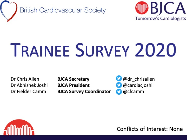 BJCA Trainee survey 2020