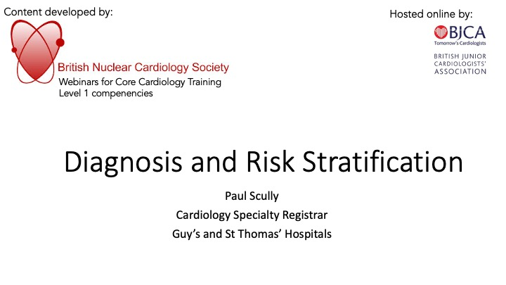 Diagnosis and Risk Stratification- BNCS Level 1 Series