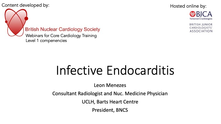 Infective Endocarditis- BNCS Level 1 Series