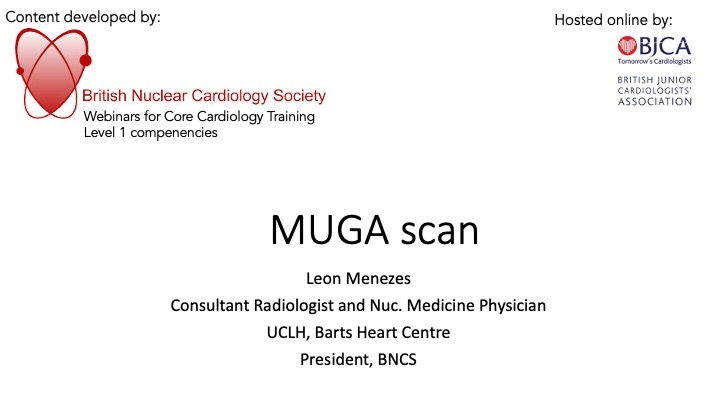 MUGA scan- BNCS Level 1 series