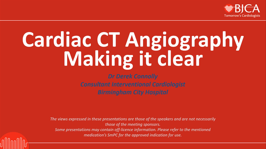 EEGC CONTENT: Cardiac CT Angiography – Making it Clear