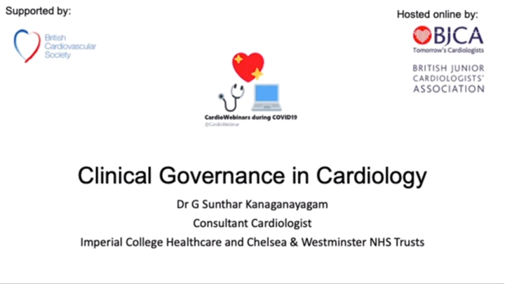 Clinical Governance in Cardiology