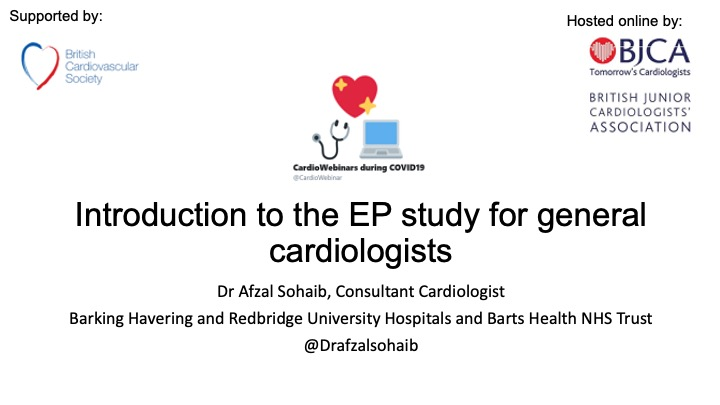 Introduction to EP study for the general cardiologist