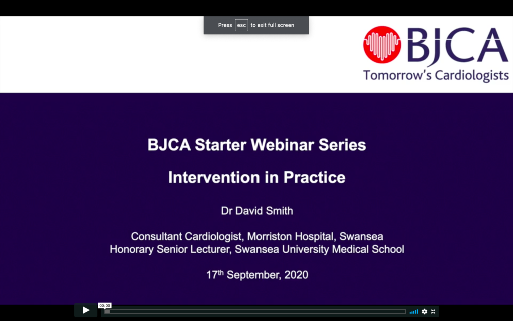 BJCA Starter E3: Intervention in Practice