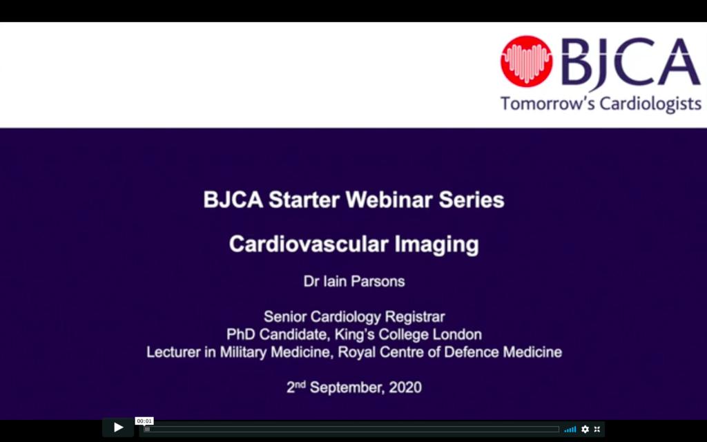 BJCA Starter E2: Cardiovascular imaging