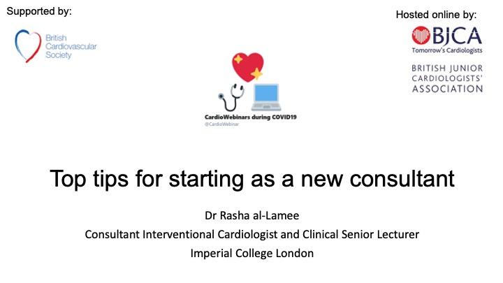 Top tips for starting as a new Consultant