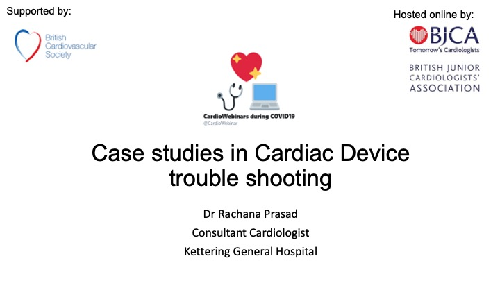 Case Studies in cardiac device programming