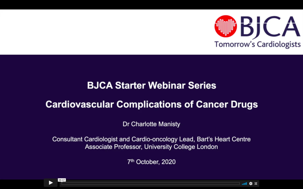 BJCA Starter E5: Cardiovascular Complications of Cancer Drugs