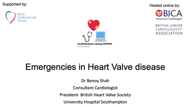 Heart Valve emergencies