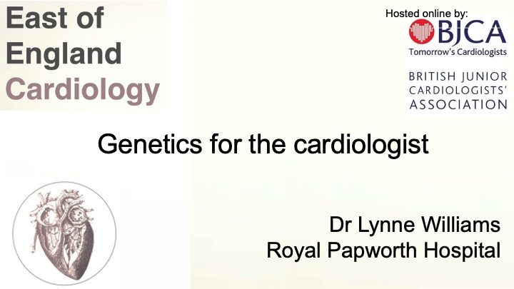 Genetics for the cardiologist