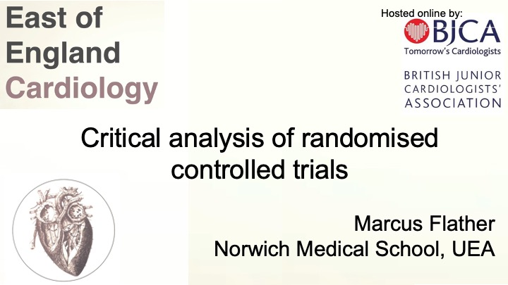 Critical analysis of randomised controlled trials