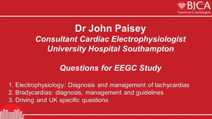 Dr John Paisey