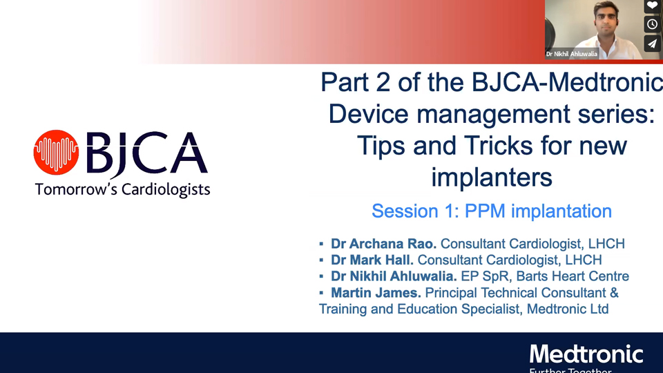 Session 1: Device Implantation and peri-implant lead/device assessment