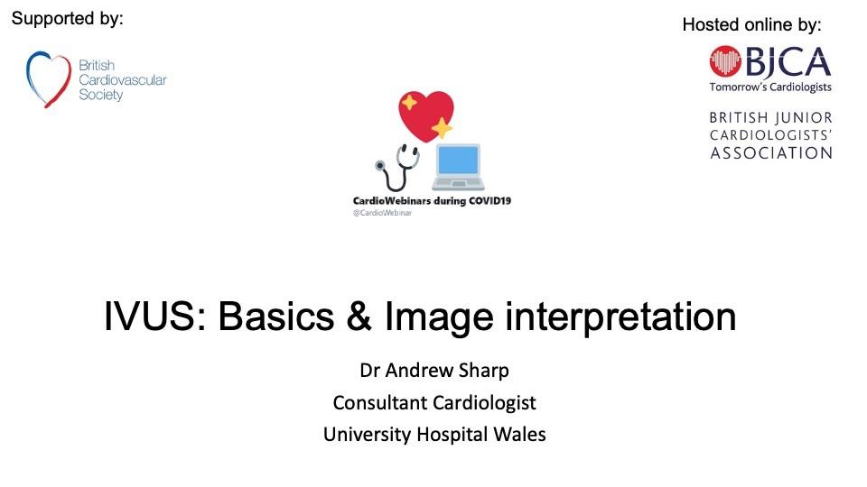 IVUS: Basics & Image Interpretation